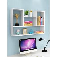书架墙上置物架免打孔创意壁挂式柜子简约卧室收纳储物客厅面装饰3yd