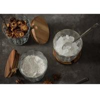 厨房用品玻璃调料瓶调味罐调味瓶盐罐糖罐调料盒套装 3个装