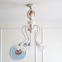 北欧芭蕾舞儿童吸顶灯女孩公主房儿童房卧室灯样板房家装灯具灯饰 s030赠送led灯泡