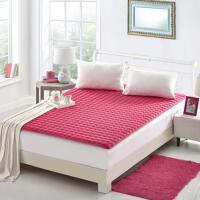 保暖垫簿床垫高低床经济型学生被薄款单人床垫套可折叠铺垫防滑垫