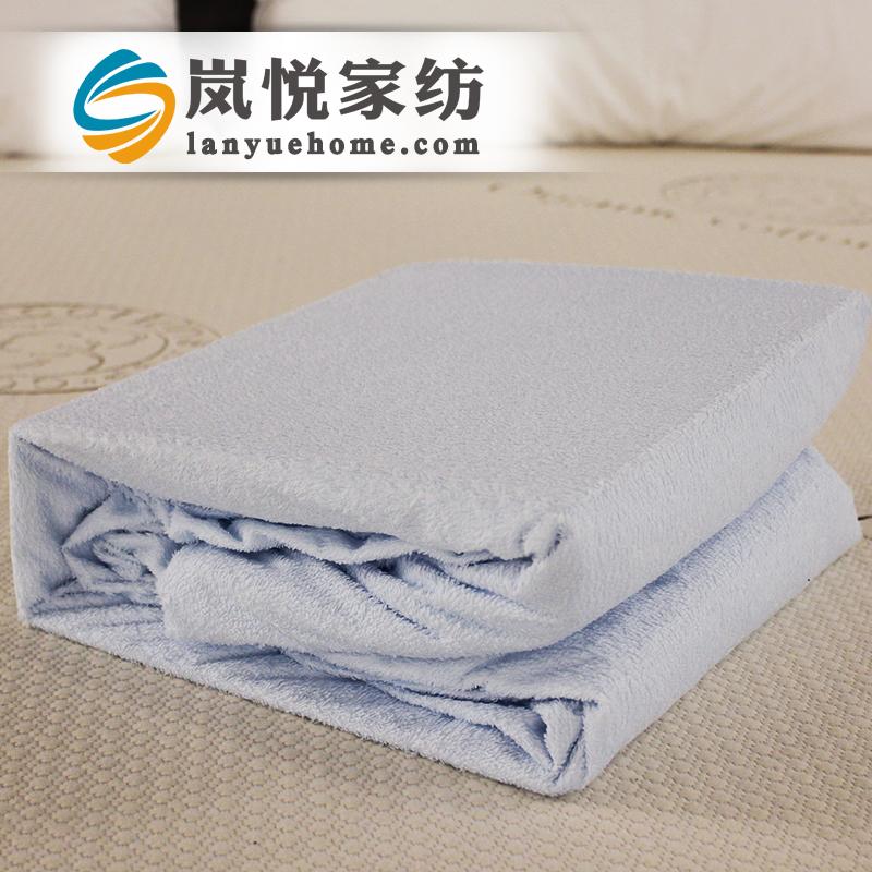 送枕套 岚悦防水床笠隔尿 透气床罩床垫保护套罩床单可订做 送防水枕套;热熔环保工艺;舒眠亲肤面料