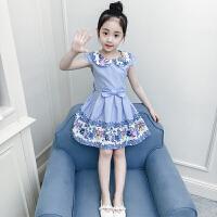 连衣裙夏装新款儿童短袖公主裙女孩裙子韩版夏季