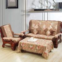 实木沙发垫太师椅垫加厚海绵座垫毛绒秋冬季节沙发坐垫