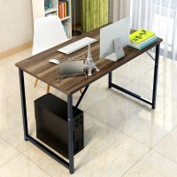 简易电脑桌台式书桌家用简约写字台临时办公桌子特价出租房公2019