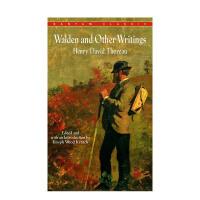 【预订】Walden and Other Writings,瓦尔登湖及其他 梭罗作品 英文原版
