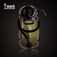 军迷用品耐压水囊 跑步软水壶 运动骑行户外水袋 折叠便携