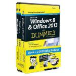 【预订】Windows 8 and Office 2013 for Dummies, Book + 2 DVD Bun