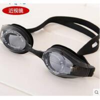 新款 高清晰 防水游泳镜男女通用 防雾 近视泳镜
