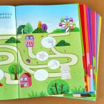 全套10册 趣味贴画书 益智专注力训练儿童智力动脑卡通贴画纸宝宝思维训练书籍开发大脑幼儿学前识字数学启蒙早教游戏玩具童话