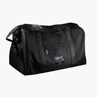肌肉健身兄弟休闲大容量单肩斜跨运动背包男女通用户外旅行手提包
