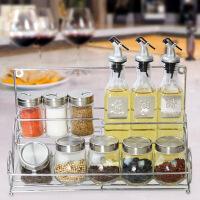 厨房用品玻璃调味瓶罐调料盒鸡精盐罐酱油醋橄榄油壶套装