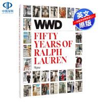 英文原版 女装日报 拉尔夫劳伦的五十年 WWD Fifty Years of Ralph Lauren 女装 摄影 女装