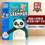 华研原版 英国小学英语语法练习册7-8岁 英文原版小学教材 Let's Do Grammar 进口书籍 正版现货 全英