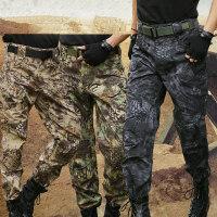 迷彩长裤 多口袋战术工装裤户外作训裤军迷军装裤