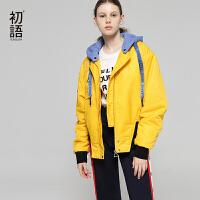 初语棉袄女2018秋冬装新款韩版学生棉衣小清新休闲短款外套