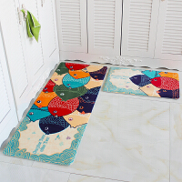 可爱进门地垫卧室门垫防滑垫卫生间吸水脚垫厨房长条地垫浴室地毯