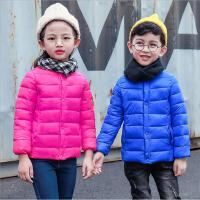 儿童棉衣2017冬季新款童装男童羽绒服女童棉衣中大童棉外套 DZD1708棉衣内胆