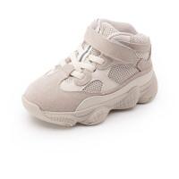 冬宝宝运动鞋1-3岁小童潮鞋老爹鞋加绒 软底学步鞋男女童