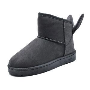 WARORWAR新品YM29-808P冬季韩版平底舒适女士雪地靴