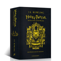 英文原版哈利波特与凤凰社20周年纪念赫奇帕奇版Harry Potter and the Order of the Pho