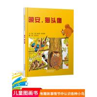 美国图书馆协会好书 精选畅销绘本《晚安,猫头鹰!》0~3~6岁儿童绘本故事书 学龄前少儿读物 佩特?哈群斯作品启发