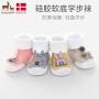 欧孕婴儿鞋袜地板袜宝宝秋冬款保暖学步地板鞋防滑软底儿童袜