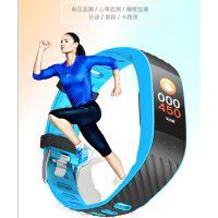 触摸彩屏智能手环心率手环蓝牙运动跑步计步器血压监测仪手表男女防水多功能通用通话提醒腕带手表减肥减脂锻炼APP管理闹钟排