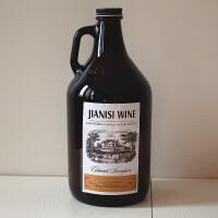 大号酿酒玻璃瓶 加州红酒泡酒瓶 棕色原料加厚药酒果酒瓶储酒容器