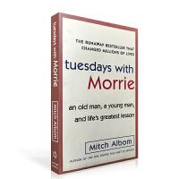 相约星期二英文原版 Tuesdays with Morrie 英文版进口书 十四堂星期二的课 余秋雨名人倾情推荐 国外文