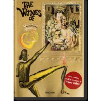 现货 塔森出版达利的葡萄酒红酒英文原版精装绘画珍藏版DAL?.THE WINES OF GALA 超现实主义萨尔瓦多 达