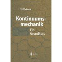 【预订】Kontinuumsmechanik: Ein Grundkurs Fur Ingenieure Und Ph