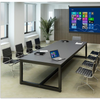 大小型会议桌长桌简约现代折叠培训桌时尚条形简易会议长方形桌椅