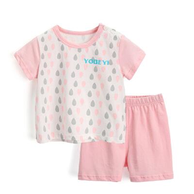 儿童内衣套装纯棉宝宝睡衣短袖薄款插肩袖夏季婴儿衣服套装4864 发货周期:一般在付款后2-90天左右发货,具体发货时间请以与客服协商的时间为准