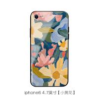 苹果X玻璃手机壳xs max原创iPhone7/8plus华为P20简约女mate20pro 6 /6S