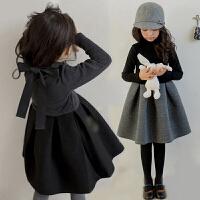 儿童公主裙秋冬季韩版女童秋装2018新款连衣裙中大童礼服洋气裙子