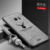 三星S6手机壳S7e保护s6e+曲面屏G9250硅胶套SM-G9300全包边G9350防摔galax
