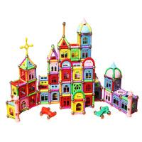 儿童力磁力棒玩具4-10岁男孩5-6-7以上女孩男童礼物8磁铁积木