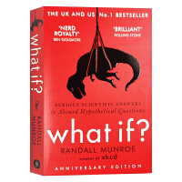 【新到现货】英文原版 What If? Serious Scientific Answers to Absurd Hypothetical Questions 那些古怪又让人忧心的问题