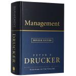 德鲁克管理 英文原版 Management 全英文版进口管理学教材 现货正版英语书籍