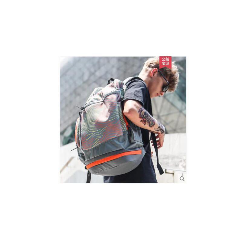 性水桶大容量双肩背包运动旅行健身篮球书包男女士时尚潮流户外 品质保证 售后无忧 支持货到付款