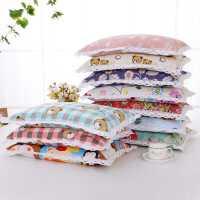 荞麦枕头成人单人纯棉粗布枕套全荞麦皮枕芯儿童学生护颈保健枕