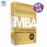现货在家就能读MBA英文原版 The Personal MBA 掌握经营的艺术 商业学习 乔希考夫曼 英文版进口经济管理