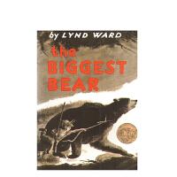 进口原版 The Biggest Bear大的熊  [平装]  [4-8岁]
