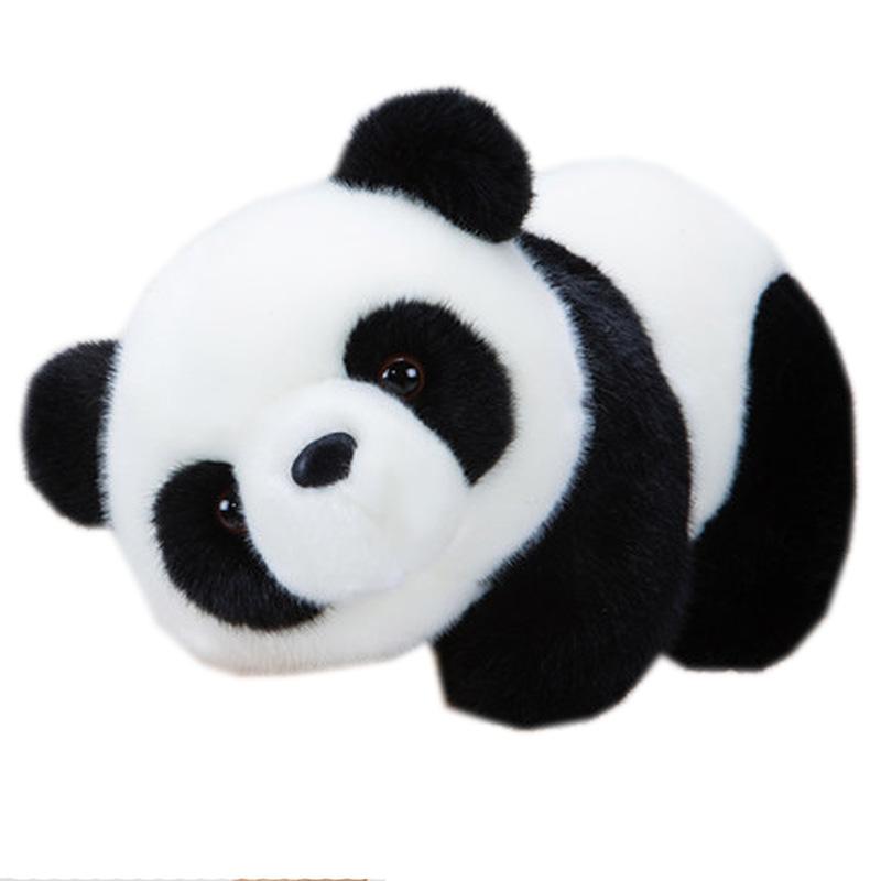 熊猫公仔抱抱熊女生礼品可爱*毛绒玩具玩偶抱枕布艺娃娃 歪歪站立熊猫 熊猫一家四口 (16cm+20cm+26cm+30 发货周期:一般在付款后2-90天左右发货,具体发货时间请以与客服协商的时间为准