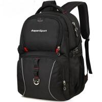 韩版校园潮高中学生书包男士背包 新款休闲商务电脑包旅行包双肩包男