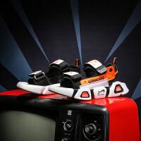 【一件二折;69】贵人鸟男童凉鞋2021新款潮中大童软底防滑男孩沙滩小童夏季儿童鞋