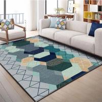 北欧式客厅沙发茶几地毯进门地毯垫美式家用卧室满铺床边可水洗