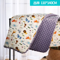 婴儿毛毯宝宝小毯子儿童加厚被子盖毯童毯新生儿幼儿园豆豆毯冬季儿童毛毯幼儿园冬小学生午睡被绒毯单层 婴
