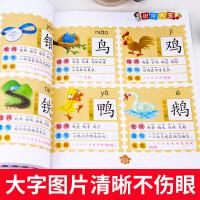 1016字幼儿园学前班教材幼儿早教图书看图识字书儿童识字卡片儿童书籍3-6岁