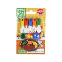 IWAKO ER-981028 岩泽趣味橡皮 儿童卡通可爱橡皮创意文具 .厨具当当自营